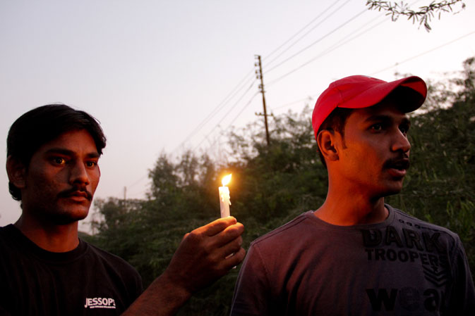 ?Our political leaders don?t visit the US as much as our military generals do, and half our budget is taken away by the army. If they can?t defend their own selves, how will they defend us?? said Muhammad Yousuf, member of ?Pakistan Awami Sangat?, a local student fraternity operating in the Korangi area to create awareness amongst the masses.