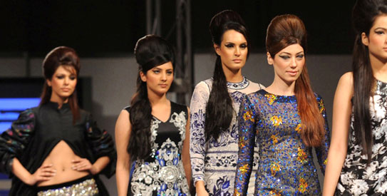 Karachi Fashion Week – Photo courtesy TripleE