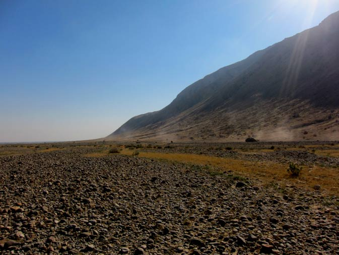 Along the way to Mula, there were some truly memorable sites. -Photo by Taimur Sikander