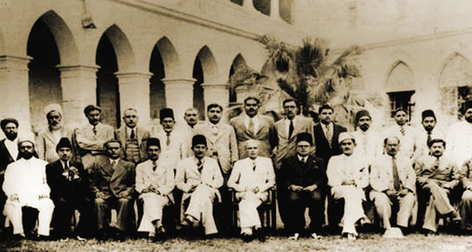 Quaid-e-Azam visiting the Sindh Madrasah High School in June 1943. Jinnah acquired his initial education at home and enrolled at Sindh Madrasah High School in 1887, before he left for England for further studies. Law was one of his best suits, leading him to join Lincoln's Inn in London. During this period, Jinnah suffered traumatic setbacks in his personal life and was left bereaved at the loss of his mother and wife, whom he married at an early age. Nevertheless, his passion for bar and legal fraternity, gave him
