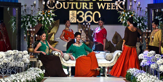 Style360's Bridal Couture Week — Photo courtesy Anahita Hashmani
