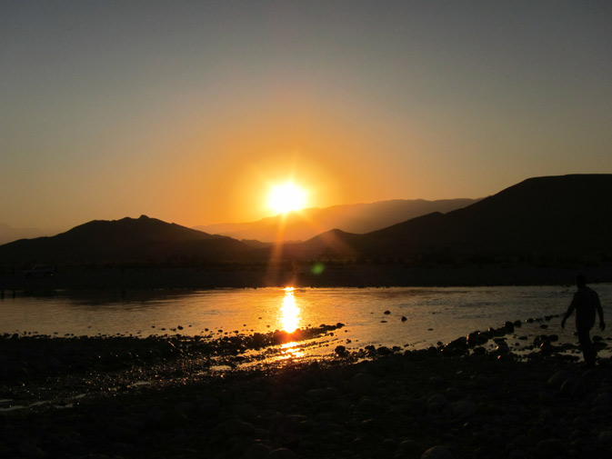 Sunset at Mula adds to the character of the place. -Photo by Taimur Sikander
