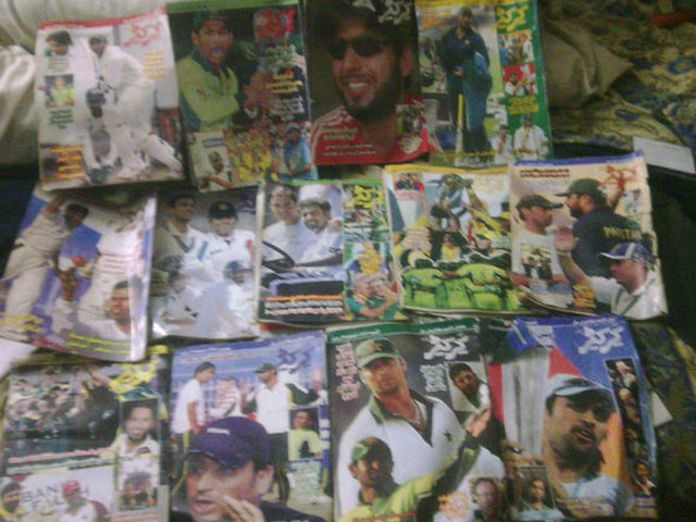My Cricketer collection.