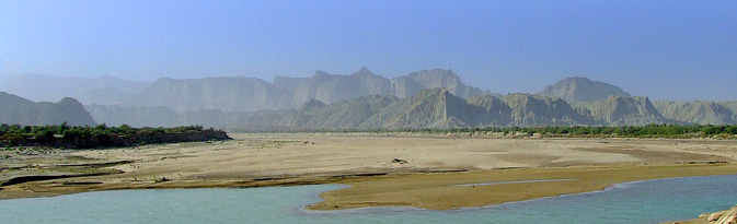 A panoramic view of the Hingol national park
