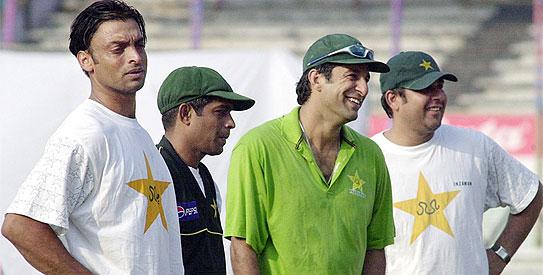 wasim akram, shoaib akhtar, inzamam ul haq, pakistan cricket