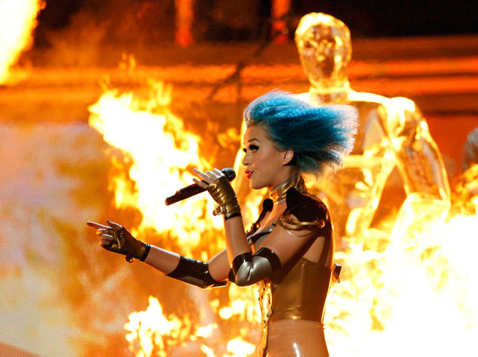 Katy Perry performs onstage. ? Reuters Photo