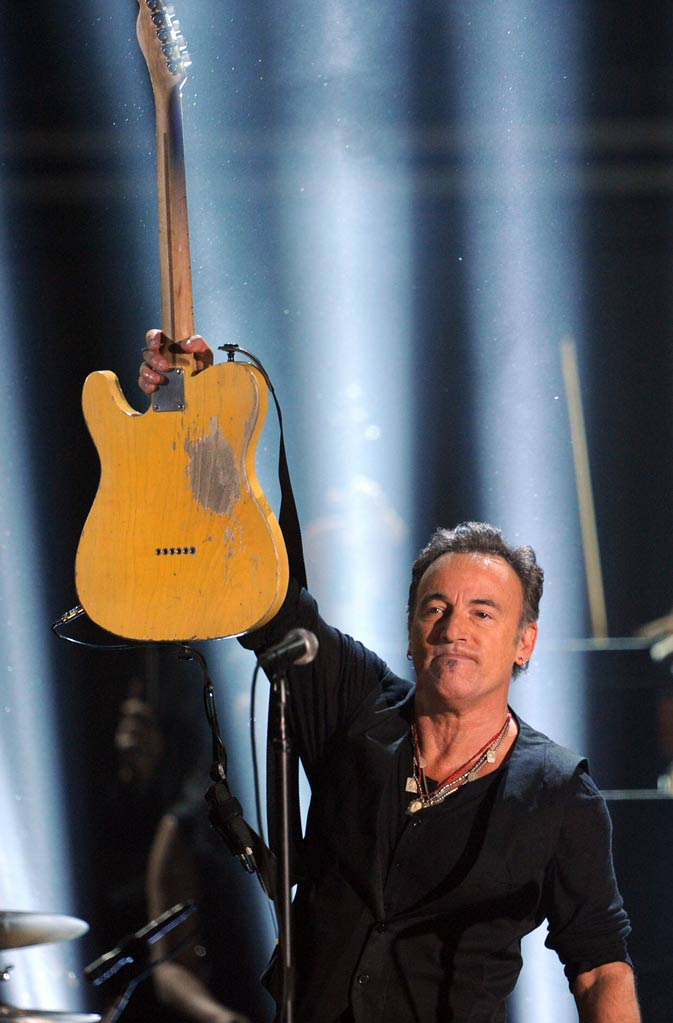 Musician Bruce Springsteen performs onstage. ? AFP Photo