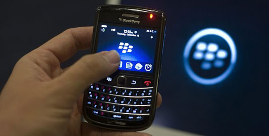 In a BlackBerry, PIN-to-PIN messaging uses Triple Data Encryption Standard (Triple DES). It is relatively more secure than regular unencrypted e-mail. – File photo