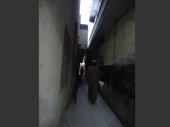 Dark alley. -Photo by Attiya Imdad Mian, 40, Islamabad.