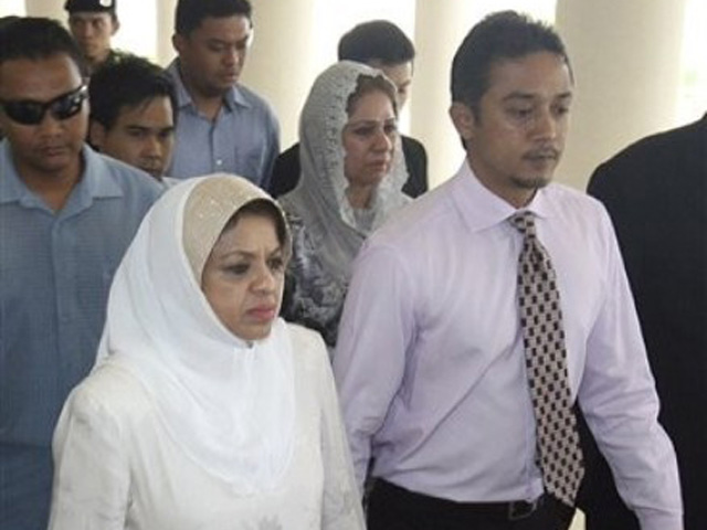 Malaysia minister's husband charged with corruption