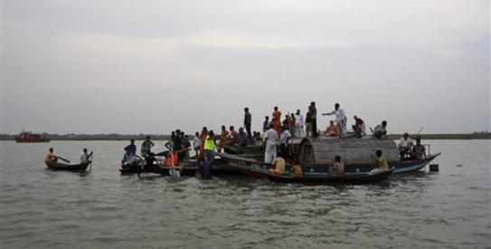 Eighteen dead, dozens missing in Bangladesh ferry crash