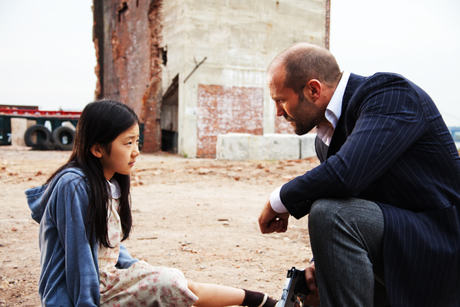 "Catherine Chan portrays Mei, left, and Jason Statham portrays Luke Wright in a scene from ""Safe"". ? Photo by AP."