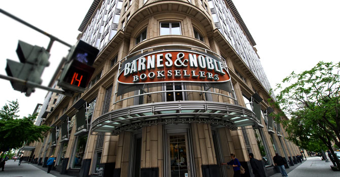 Microsoft will make a $300 million investment in a new Barnes & Noble subsidiary.