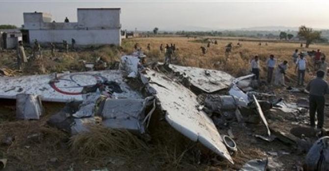 bhoja-air-crash-site