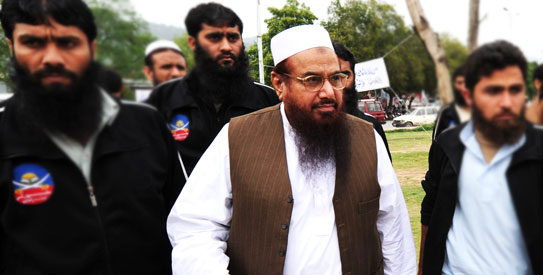The money offered for information leading to Saeed's arrest and conviction is the same as the sum offered by the US for the Afghan Taliban supreme leader Mullah Omar. – Photo by AFP