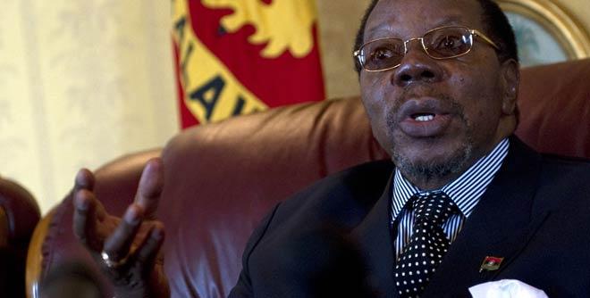 Malawi president death
