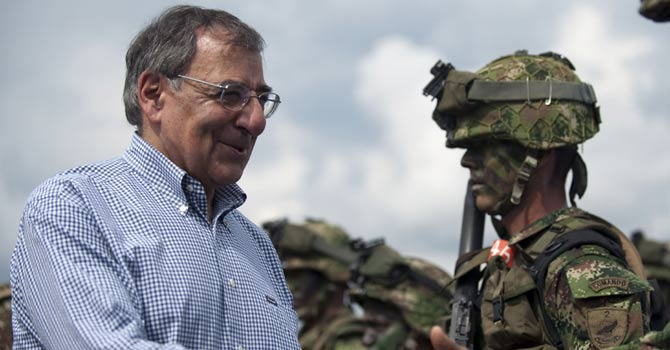 Panetta dismisses Iran claims on copying US drone