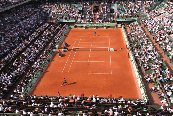 「【民放放送】「全仏オープンテニス」名試合を観戦するコツ」の画像