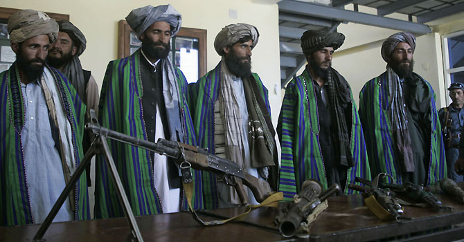 Moderate Taliban speaks of divisions