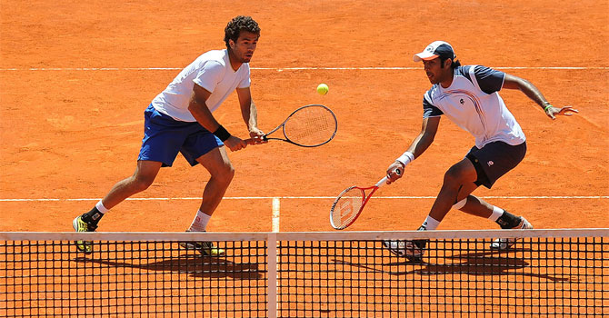 Aisam-ul-Haq Qureshi and Jean-Julien Rojer