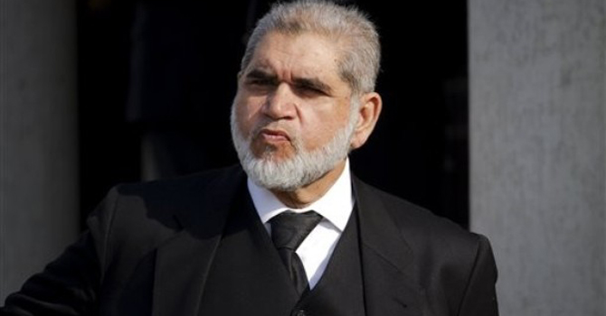 Masoor Ijaz's counsel, Akram Sheikh—AP Photo