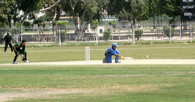 A domestic Twenty20 match organised by the Pakistan Blind Cricket Council. PBCC has named the new captain and vice-captain of the national team. – File photo by APP