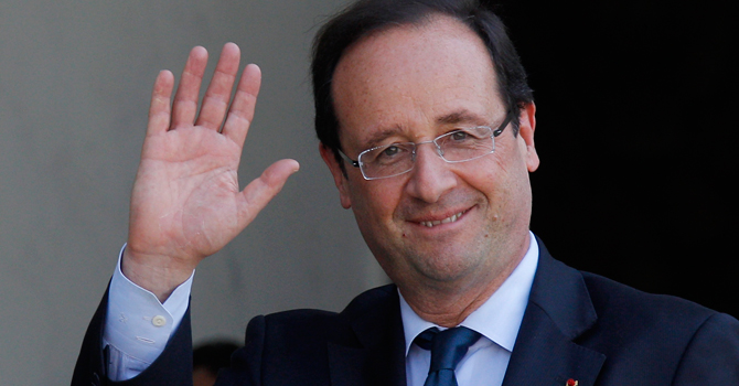 France's President Francois Hollande—Reuters Photo