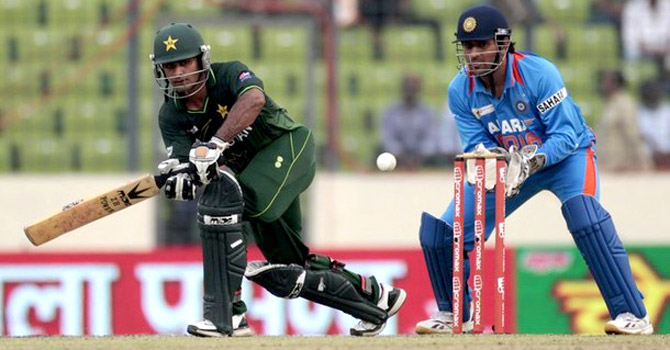 Pakistan and India have met on three occasions in multi-national events since Mumbai – Champions Trophy (2009 in South Africa), World Cup (2011 in Mohali) and Asia Cup (2012 in Dhaka). – File photo by Reuters