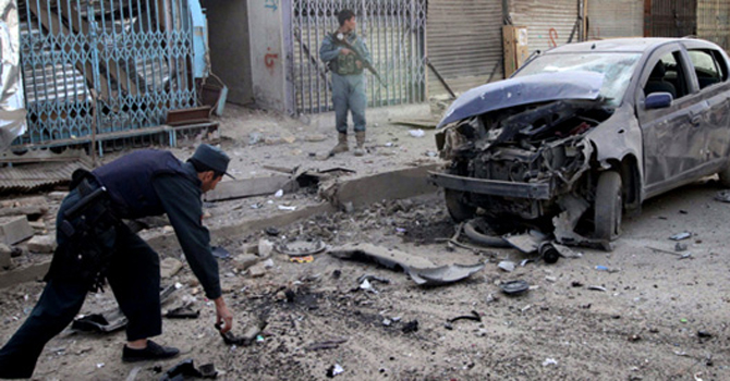 Kabul blast leaves 6 dead, scores hurt