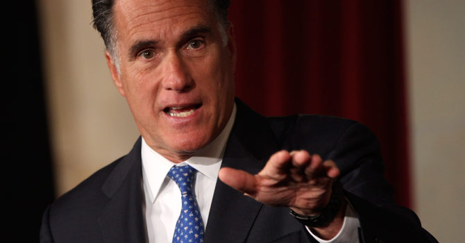 The Mitt Romney team spent nearly $1 million on digital consulting in April and Obama at least $300,000. – Photo by AP