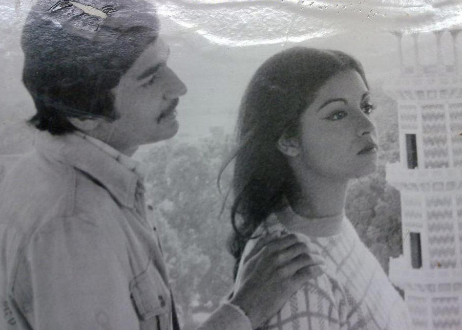 A still from one of the most famous one-off plays on Pakistan television, 'Quratul Ain' (1975)*.