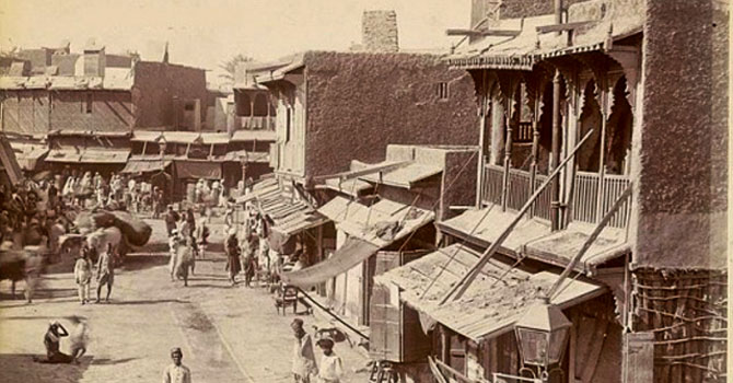 Lyari in the early 20th century. – File photo