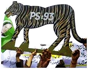 Pakistan Muslim League-Nawaz supporters