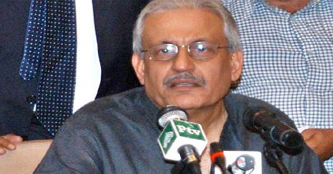 Senator Mian Raza Rabbani.  — File Photo