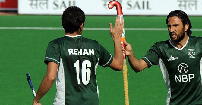 Former stars including Shakeel Abbas, Rehan Butt , Imran Warsi and Zeeshan Ashraf could be out of Pakistan's Olympic squad. – File photo by AFP