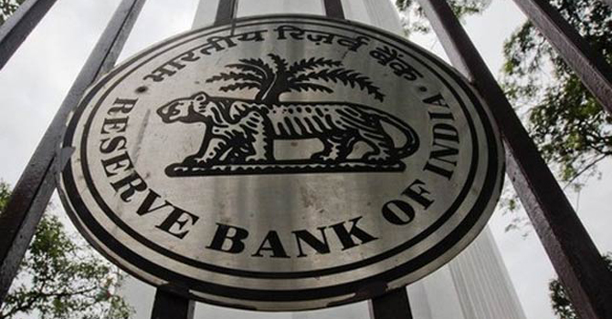 Reserve Bank of India's logo.—Reuters Photo