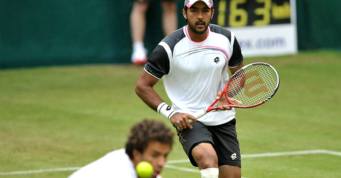 Aisam-ul-Haq Qureshi is the defending champion at the Gerry Weber Open in Halle, where he won the men's doubles title with Rohan Bopanna last year. – Photo courtesy Gerry Weber Open