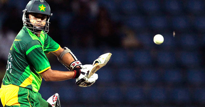 Azhar Ali's best ODI score of 96 was unable to take Pakistan home in the second ODI against Sri Lanka. – Photo by AP