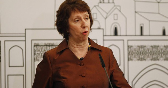 European Union Foreign Policy Chief Catherine Ashton—Reuters Photo