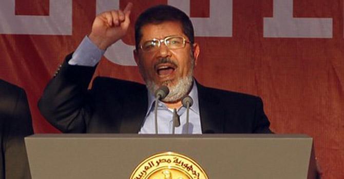 Egypt's President-elect Mohammed Morsi—AP Photo