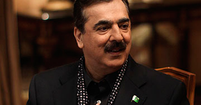 Yousuf Raza Gilani—File Photo