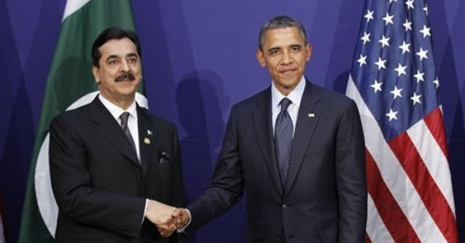 President Obama and Prime Minister Gilani—AP Photo