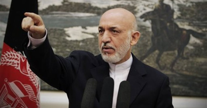 Hamid Karzai—AP Photo
