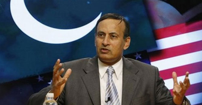 Husain Haqqani—File Photo