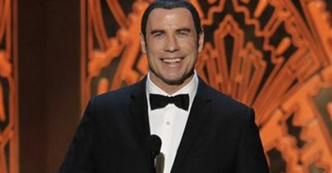 John Travolta—AP Photo