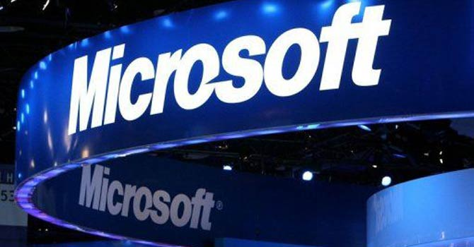 Microsoft announced a billion-dollar deal to buy startup Yammer. - Photo by AFP