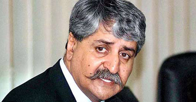 Naveed Qamar—File Photo