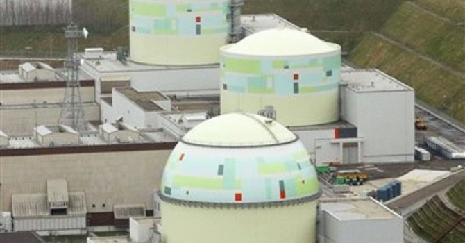 No 3 unit, foreground, of Tomari Nuclear Power Plant—AP Photo