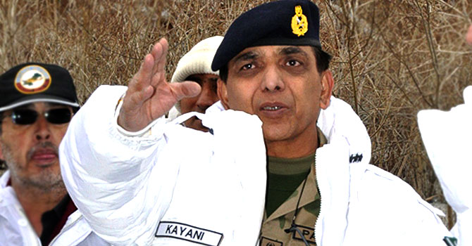 Chief of the Army Staff General Ashfaq Parvez Kayani – File photo by AFP
