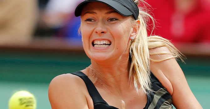 Maria Sharapova – Photo by AP